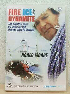 Fire Ice And Dynamite DVD 1990 Roger Moore Movie