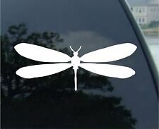 Dragonfly - Car, Truck, Notebook, Vinyl Decal Sticker #2571 | Vinyl Color: White