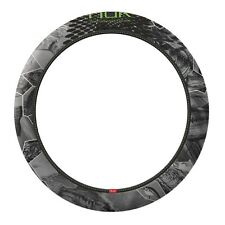 Huk Fishing Steering Wheel Cover, Camo Auto Truck Car Fresh Water Gray