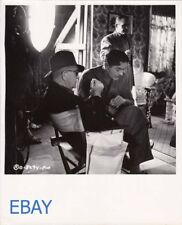 Tyrone Power director John Ford VINTAGE Photo Long Gray Line candid on set