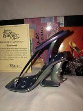 """Estate NIB Raine Just The Right Shoe Figurine """" Luminous"""