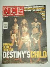 NME APRIL 28 2001 DESTINYS CHILD STEREOPHONICS PAPA ROACH EMINEM JOEY RAMONE