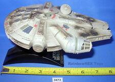 Star Wars Micro Machines Action Fleet MILLENNIUM FALCON BATTLE DAMAGED  w/Stand