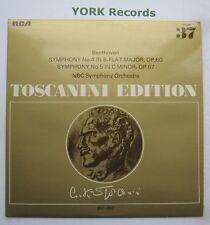 AT 128 - BEETHOVEN - Symphonies No 4 & 5 TOSCANINI NBC SO - Ex Con LP Record