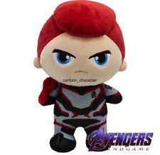 """Official Licensed Marvel AVENGERS ENDGAME MOVIE BLACK WIDOW Plush Doll Toys 10"""""""