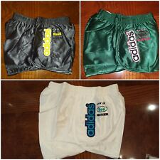 Vintage ADIDAS Road Runner shiny sports nylon shorts Sprinter Retro Running 80s