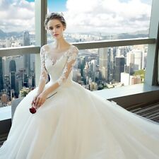 short sleeve v-neck corset wedding dress full-length ball gown lace bridal gown