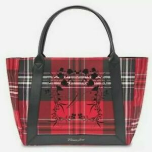NWT Victoria's Secret Limited Edition 2020 Red Plaid Tote Bag Holiday
