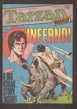 """Tarzan Weekly ~ UK magazine / """"Burroughs"""" ~ Sept 24, 1977 (7.5) WH"""