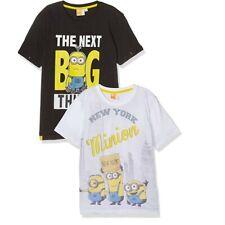 Jungen T-Shirt 116 im 2er Pack MINIONS 100% Baumwolle