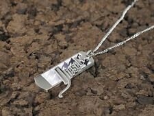 New Diesel Silver Mens Necklace Dx0211040 Stainless Steel