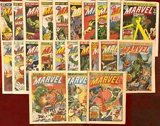 THE NEW MARVEL COMIC BUNDLE  - UK (23 ISSUES) THE HULK -  VGC