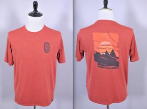 Patagonia Capilene Cool Daily Graphic Shirt Rock Climbing Men's Medium M
