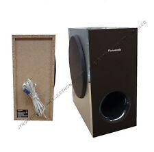 Panasonic 3D Blu-Ray DVD Home Cinema Passive Subwoofer Sub 200W +Speaker Cable