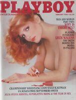 KIMBERLY McARTHUR  February 1982 PLAYBOY Magazine CENTERFOLD: ANNE-MARIE FOX