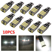 10pcs Voiture T15 Ampoules LED DC12-24V 45SMD 4014 Licence Plaque de Queue Feux