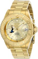 Invicta Men's Watch Popeye Automatic Champagne Dial Yellow Gold Bracelet 24489