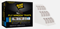 New! Black Flag WINDOW FLY TRAP Adhesive Hides Dead Bug 2 Month 4 Traps HG-11017