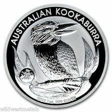 2012 1 oz Australian Kookaburra - Dragon Privy Silver Coin - Only 80,000 Minted!