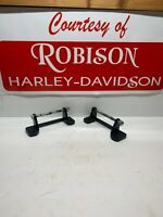 OEM Harley Davidson Black Seat Mount / Bracket FLP