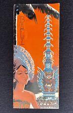 BALI The Eastern Paradise : Brochure Dépliant Touristique