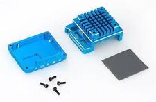 Hobbywing Remplacement Boitier alu Pour X120A-V3.1 Bleu / HW30800002