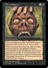 NECROMANCY Visions MTG Black Enchantment Unc