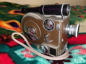 Vintage Revere Eight Model Seventy Movie Camera Revere 8 Model 70 8mm