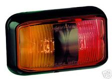 10 PACK LED AMBER/RED MARKER LIGHT TRUCK TRAILER 58ARM