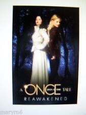 """Once Upon a Time Tale, ABC TV SERIES   """"REAWAKENED"""", NEW BOOK  IN HAND TO  SHIP"""