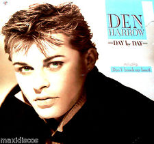 LP - DEN HARROW - DAY BY DAY (ITALO DISCO) SPANISH EDIT. 1987 LISTEN