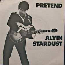 ++ALVIN STARDUST pretend/goose bumps SP 1981 STIFF RARE EX++
