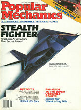 Popular Mechanics  Jan 1989 - Lockheed F-117A  Stealth Fighter - Stained Glass