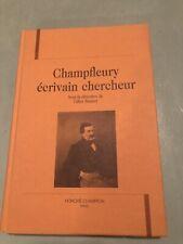 Champfleury ecrivain chercheur