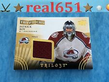 2014-15 Trilogy Tryptichs PATRICK ROY Jersey | Colorado Avalanche Relic | /250