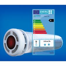 Heat Exchanger Recuperator Ventilation Unit  Prana-150 2y warranty new A+ pilot