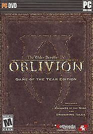 Elder Scrolls IV: Oblivion -- Game of the Year Edition  (PC, 2007)
