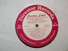 Vintage LP Record Gov. Mifflin Jr. HIGH SCHOOL PA Elaine Radcliffe Director