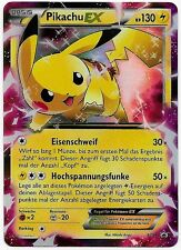 Pikachu ex-XY 84-BLACK STAR PROMO-leggendario Pokémon COLLEZIONE 2016-MINT