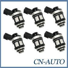 6Pcs Fuel Injectors Nozzle For Nissan Patrol GU Y61 4.5L 1997-2001 16600-38Y10