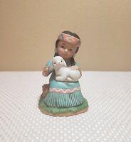 Vintage Home Interiors HOMCO Native Indian Girl Figurine #1428