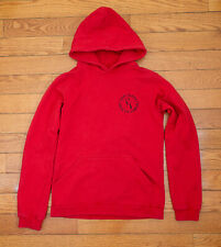 Raf Simons SS02 Red Hoodie Sweatshirt