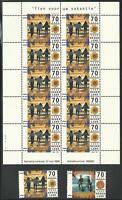 Países Bajos De 1996 Perfecto Estado MiNr.1576-1579 + 2 Pequeñas Hojas - Holiday