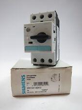 New Siemens 3RV1021-4BA10 Motor Protection Circuit Breaker 14-20A 3 POLE Size S0