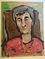 Helmut Biedermann (1940 Halle/Saale, lebt in Neutrebbin), Portrait, DDR-Kunst