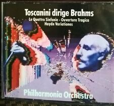 BRAHMS: SYMPHONIES 1-4;TRAGIC OV/HAYDN VARS 9PHILHARMONIA/TOSCANINI) HUNT 3 CDs