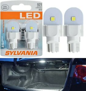 Sylvania LED Light 921 White 6000K Two Bulbs Interior Cargo Trunk Replace Lamp