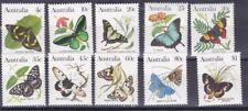 Australia 1983 serie corrente farfalle 5 serie 825-34 MHN