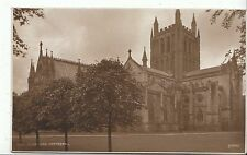Herefordshire Postcard - Hereford Cathedral   BR42