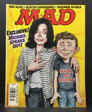 Vintage 2004 MAD Magazine February Michael Jackson #438 Magazine Comic Book RARE
